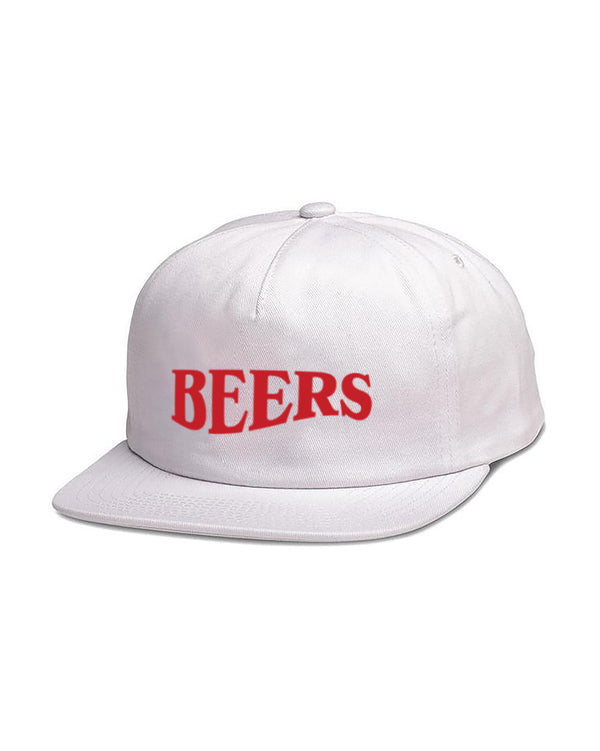 Warped Hat, White