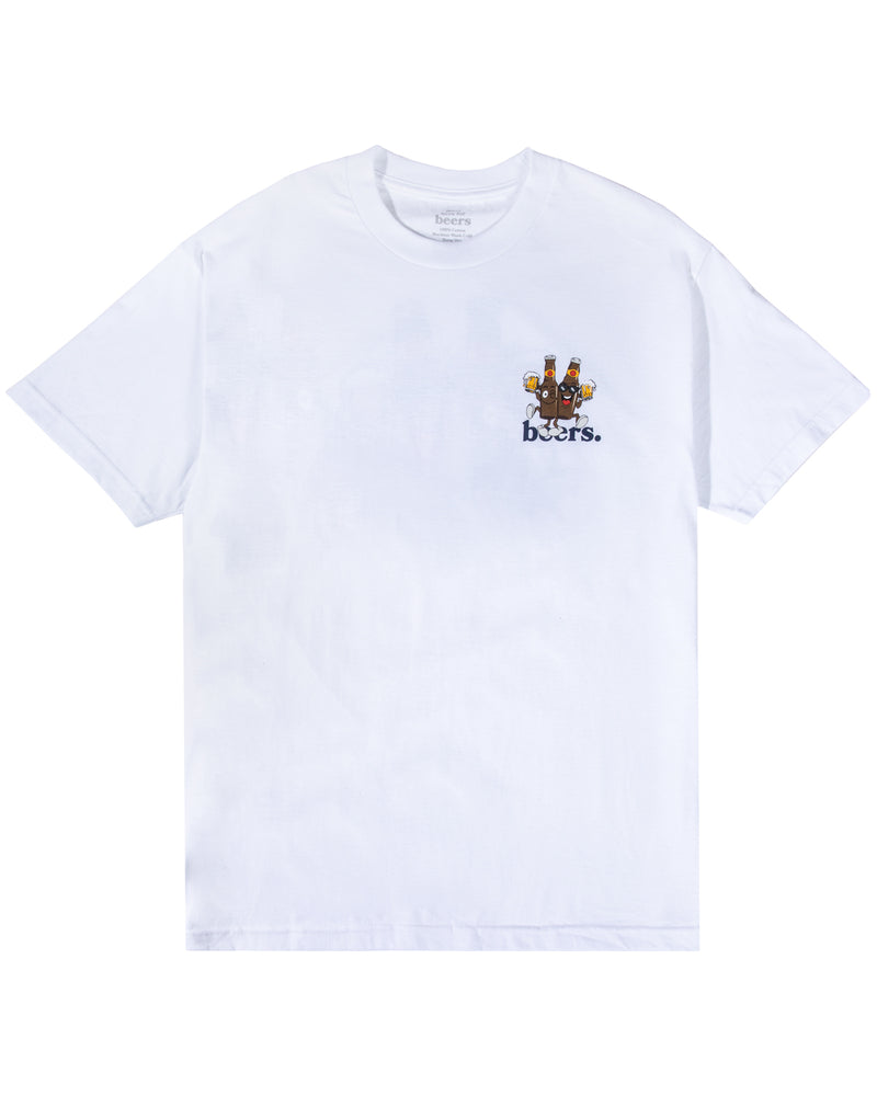 Beer Buds Tee, White