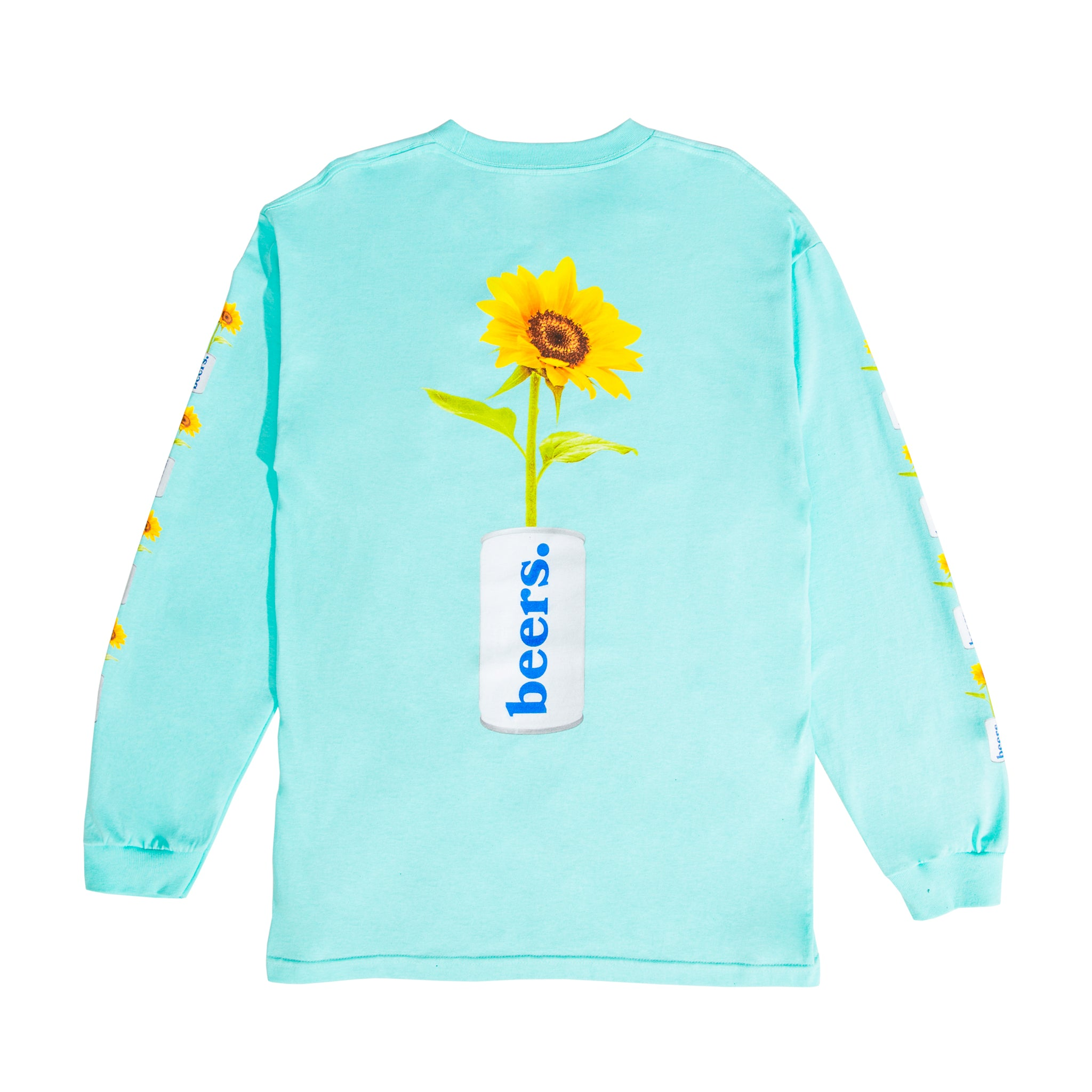 True Love Longsleeve Tee, Cool Mint