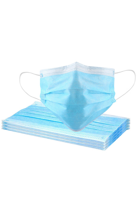 Gift-Not for Sale 1 Pcs Disposable Face Masks with Elastic Ear Loop 3 Ply for Blocking Dust Air Pollution Protectio