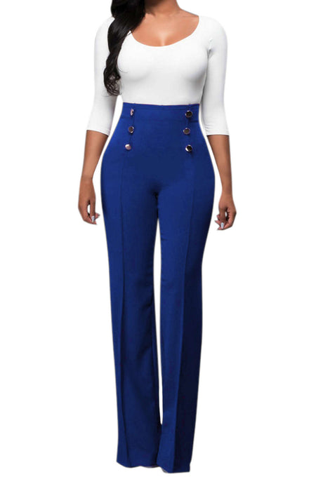 Iyasson High Waisted Wide Leg Pants