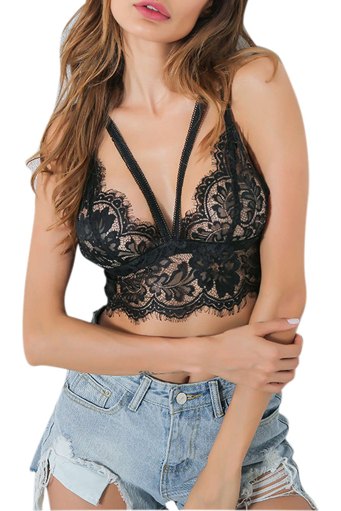 Iyasson New Strappy Lace Bra
