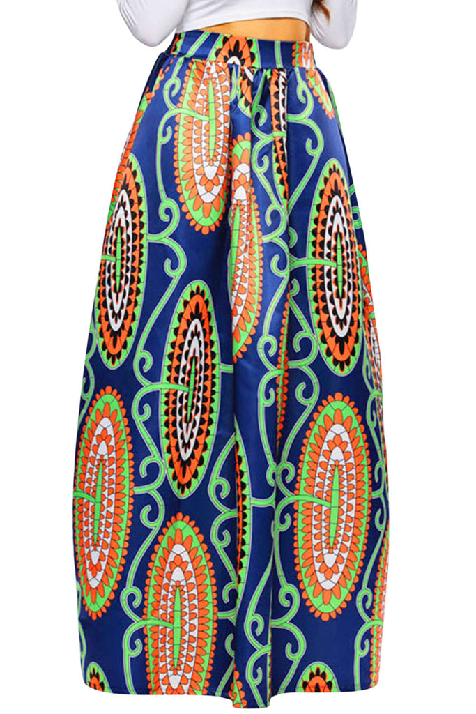 Iyasson Women's Long African Skirts
