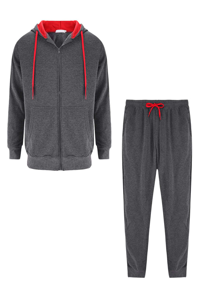 Iyasson Men's Tracksuit Gym Set