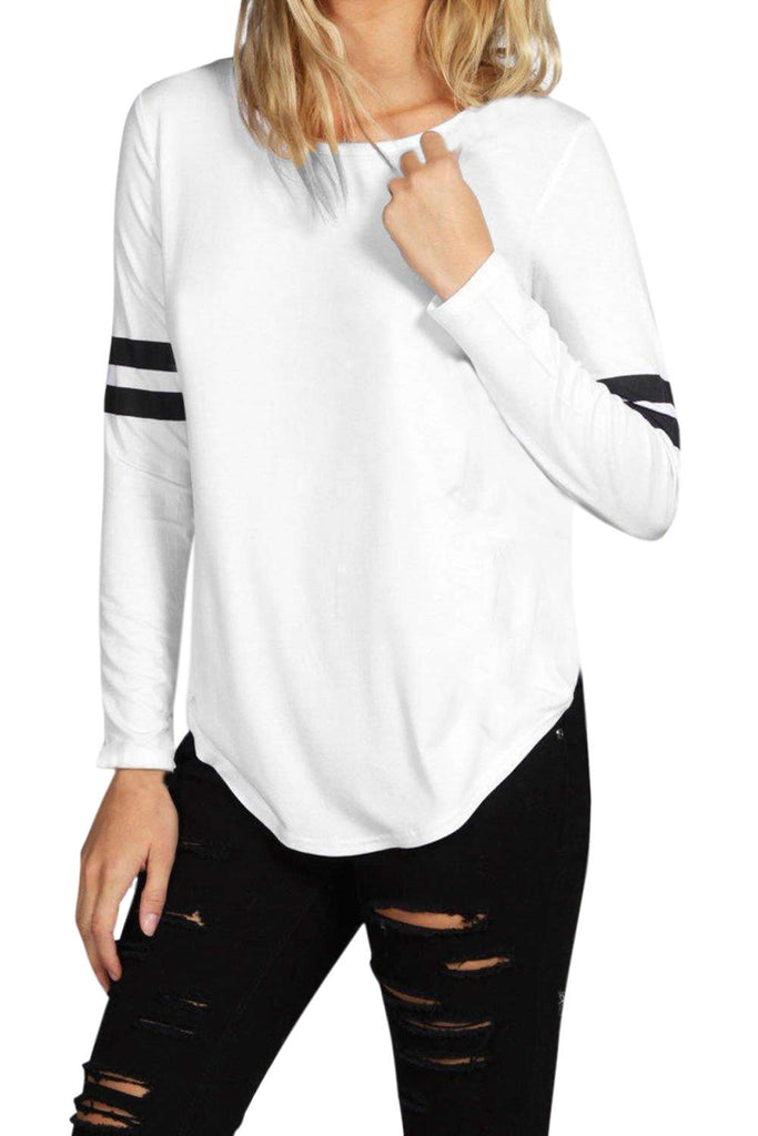 Iyasson Long Baseball Sleeve T-shirt