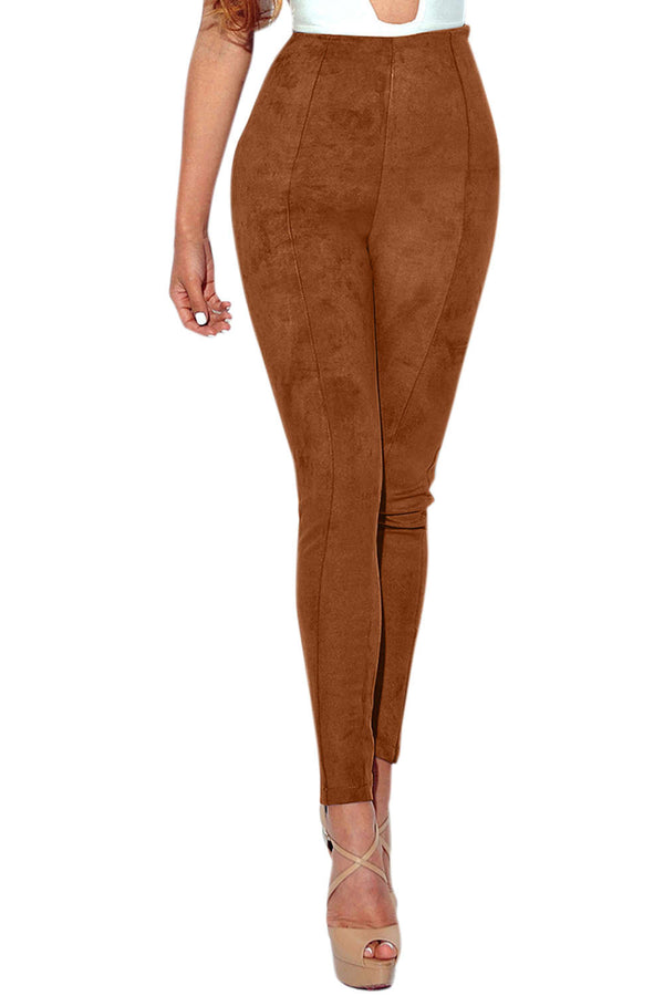 Iyasson Solid High Waisted Leggings