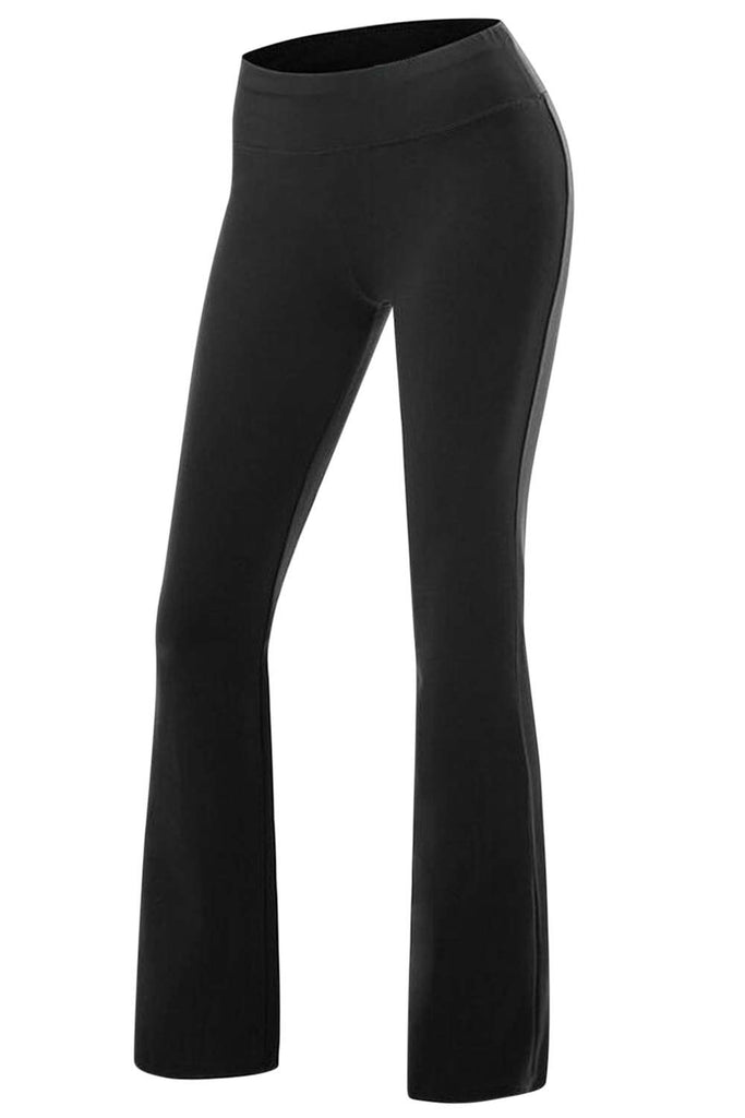Iyasson Women's Elastic Waist Casual Yoga Pants