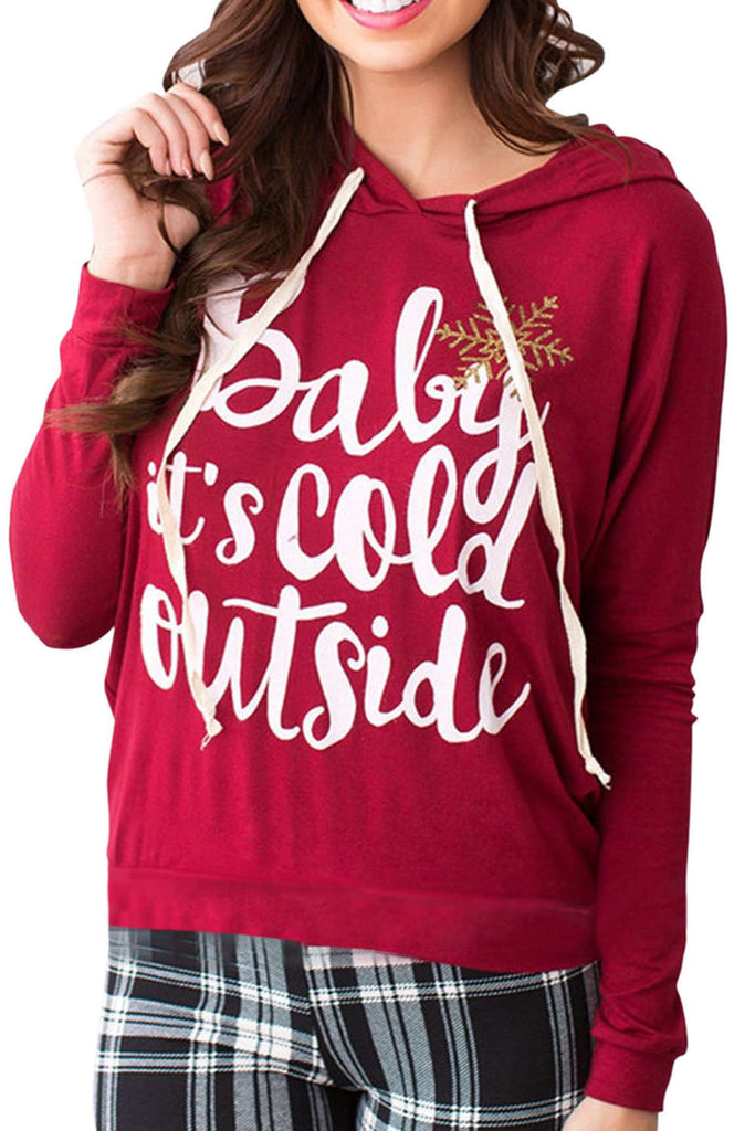 Iyasson Women's Letter Print Hoodies