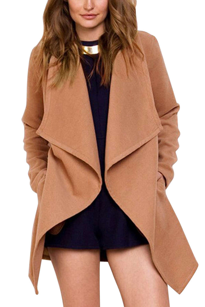 Iyasson 2018 New Women's Blend Coat