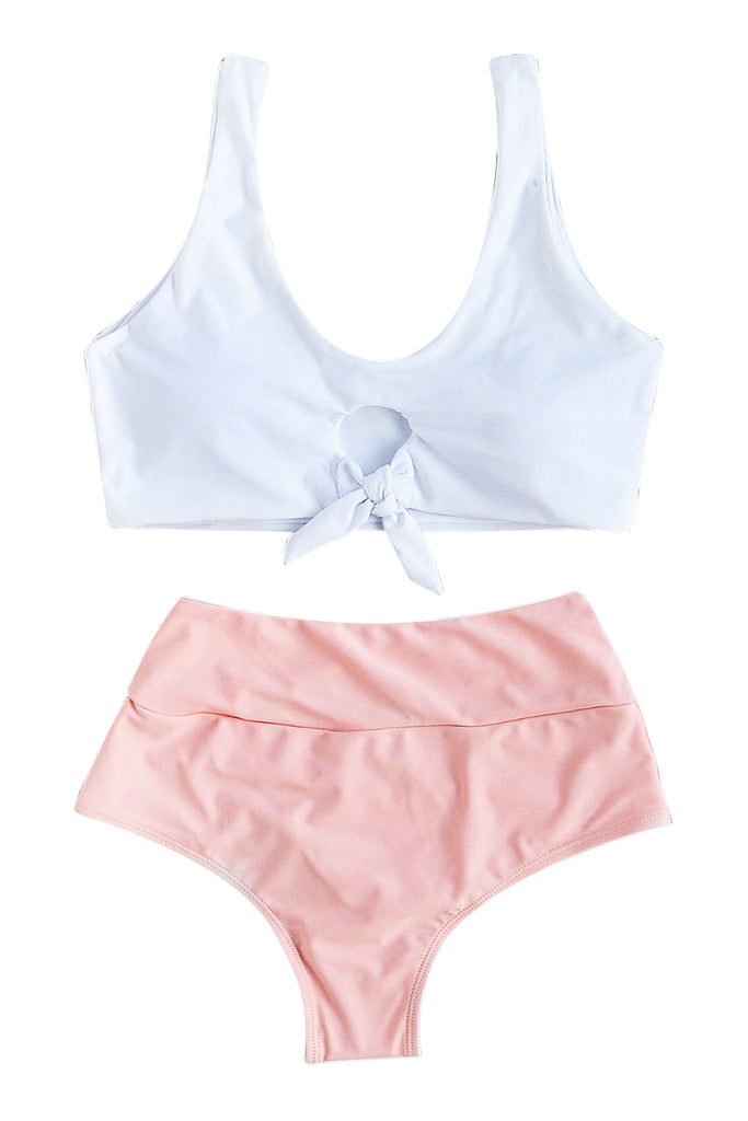 Iyasson Cute Sport Style Two Piecies Swimsuits