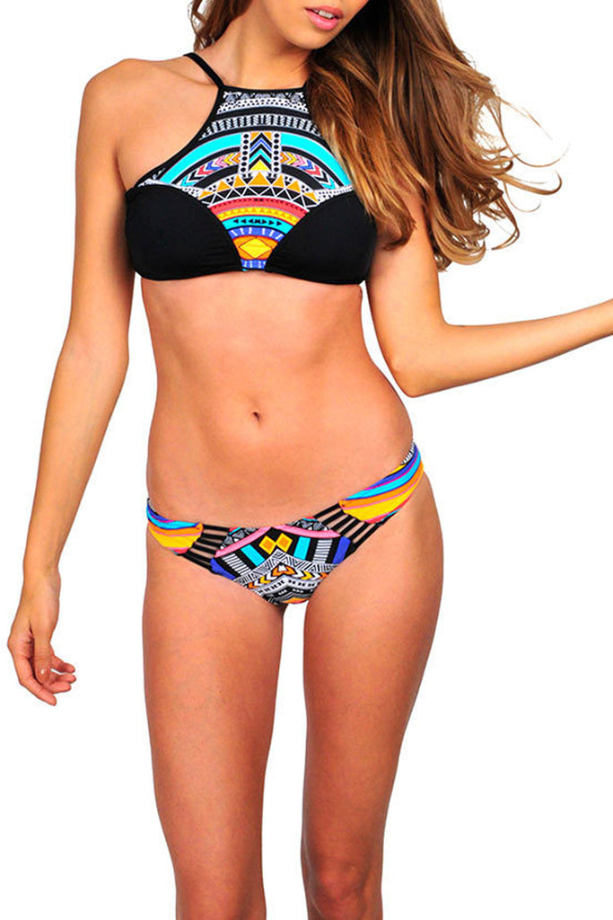 Iyasson Tank Top Boho Bathing Suits