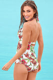 Iyasson Halter Neck Conservative Tankini Set