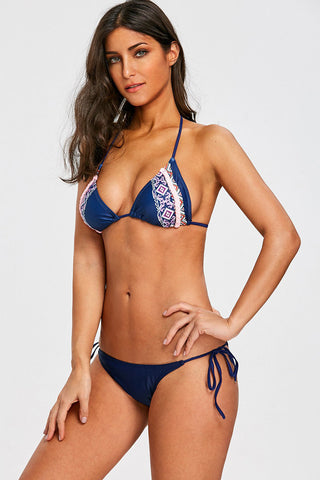 Pattern Brazilian Bikini Set