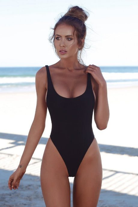 Sexy One Piece Women Backless Swimsuit