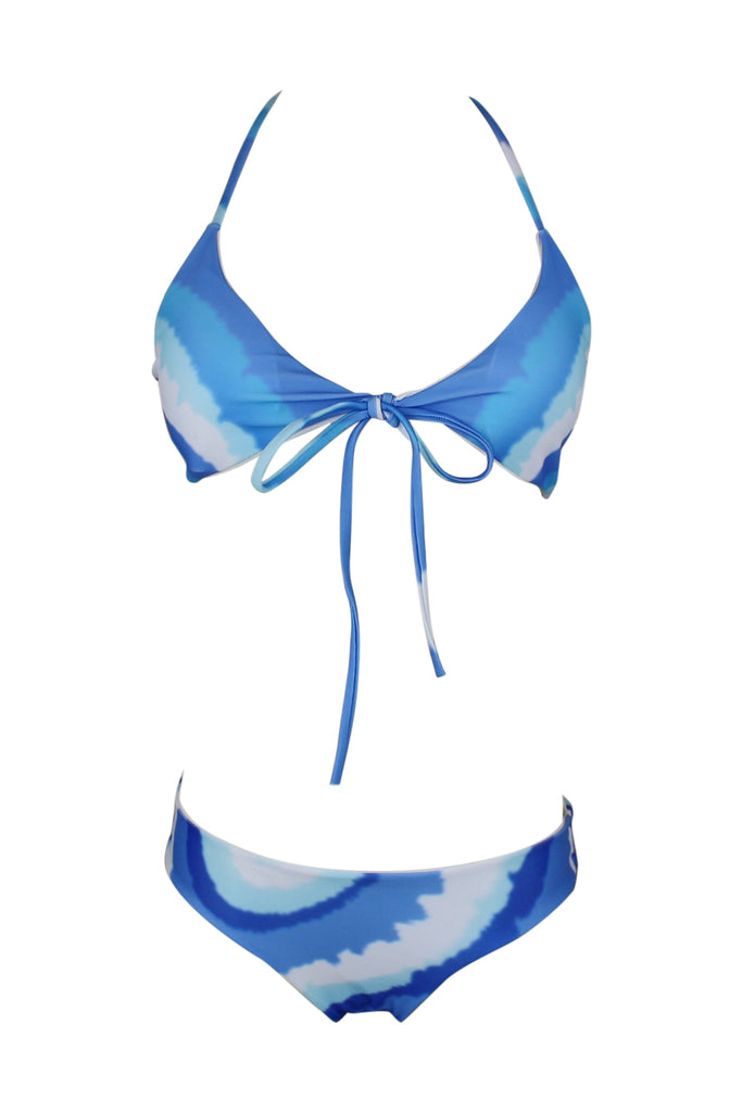 Iyasson Blue gradient Bikini Set