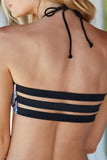 Iyasson Tank Top With Double spaghetti stripes at Bottom Boho Bathing Suits