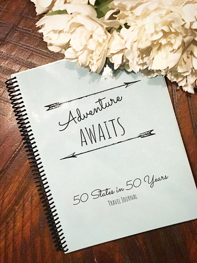50 States in 50 Years Travel Journal