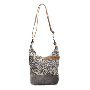 floral print shoulder bag