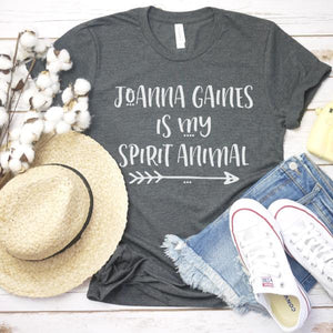 joanna gaines is my spirit animal shirt - flat lay