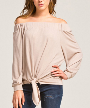 Bridgette Off-the-Shoulder Top