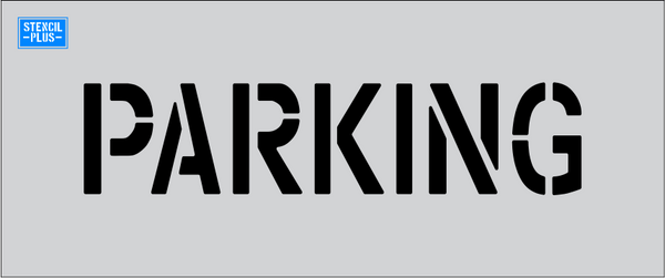 PARKING Parking Lot / Pavement Marking Stencil