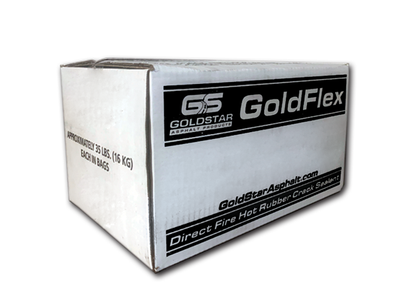 GoldFlex #615 HOA and Parking Lot Sealant / Pallet 72 Boxes @35lbs = 2520lbs