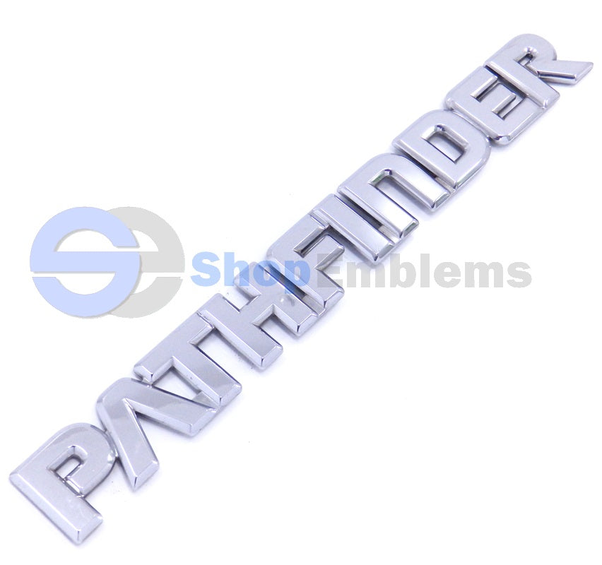 96 97 98 Nissan Pathfinder LiftGate Script Emblem Name Plate Trunk Rear Badge