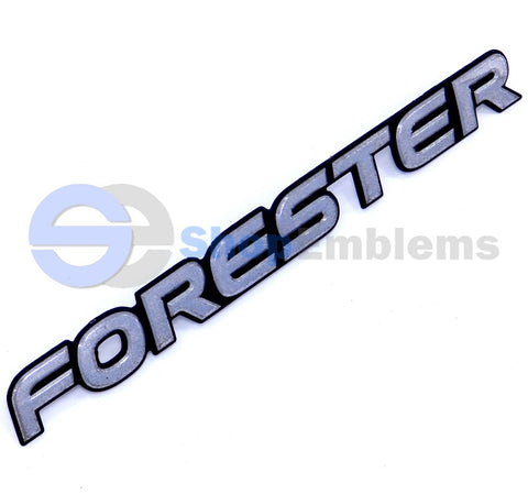 01 02 Subaru Forester Script Trunk Liftgate Emblem Badge Rear Nameplate OEM S L