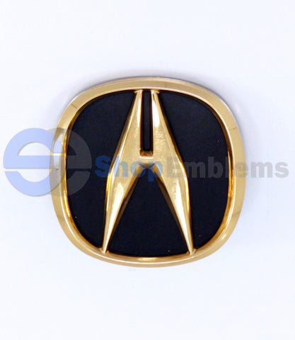 94 95 ACURA LEGEND GOLD & GRANADA BLACK PEARL EMBLEM LOGO A BADGE OEM NAMEPLATE GENUINE