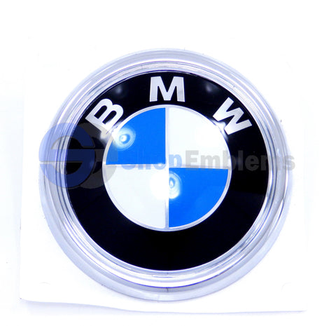07 08 09 10 11 12 13 BMW X5 LIFTGATE ROUNDEL LOGO OEM GENUINE REAR TRUNK EMBLEM BADGE