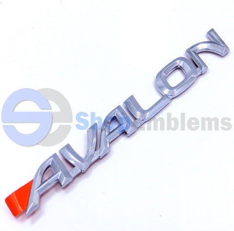 00 01 02 03 04 TOYOTA AVALON TRUNK LID SCRIPT EMBLEM NAMEPLATE BADGE OEM XL XLS