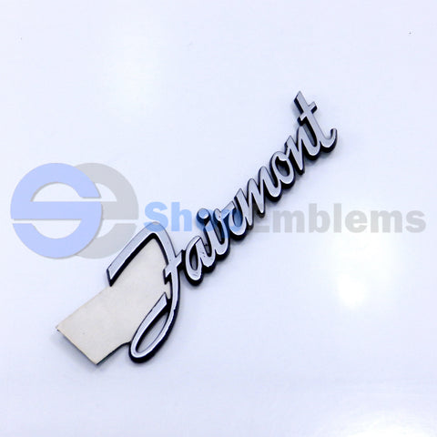 78 79 80 81 82 83 FORD FAIRMONT TRUNK LID EMBLEM NAMEPLATE BADGE OEM SCRIPT DECK LID NEW NEW OLD STOCK