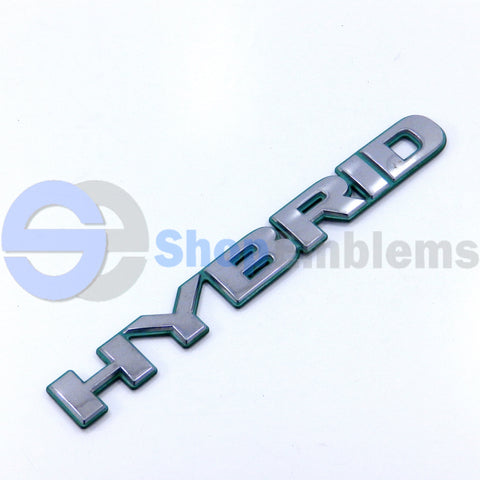 03 04 05 HONDA CIVIC SEDAN REAR BUMPER HYBRID EMBLEM SCRIPT NAMEPLATE BADGE LOGO OEM 1PC
