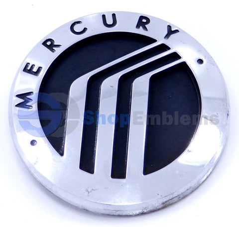 03 04 05 06 07 08 09 10 Mercury Grand Marquis Rear Trunk Lid Emblem Logo Nameplate Badge OEM LS GS