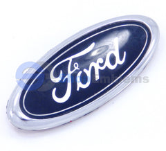 98 00 01 02 Ford Crown Victoria Trunk Lid Emblem Oval Logo Blue Badge Nameplate Rear Deck OEM Genuine