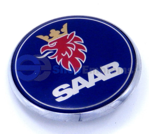 Saab 01-10 9-5 03-10 9-3 front Hood Logo Emblem Badge Genuine Nameplate Ornament OEM Griffin
