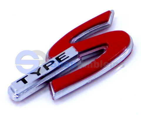 02-06 ACURA RSX TYPE S Emblem Badge Chrome Nameplate Honda USDM New 03 04 05