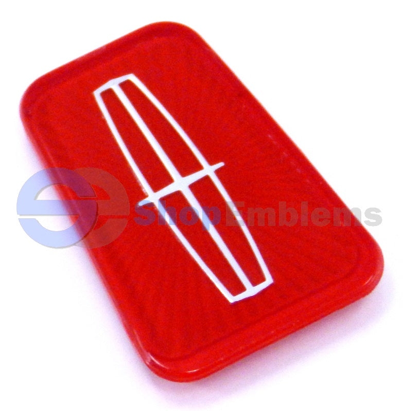 Lincoln Town Car 98-02 trunk Logo Ornament Badge Nameplate Emblem Red 99 00 01