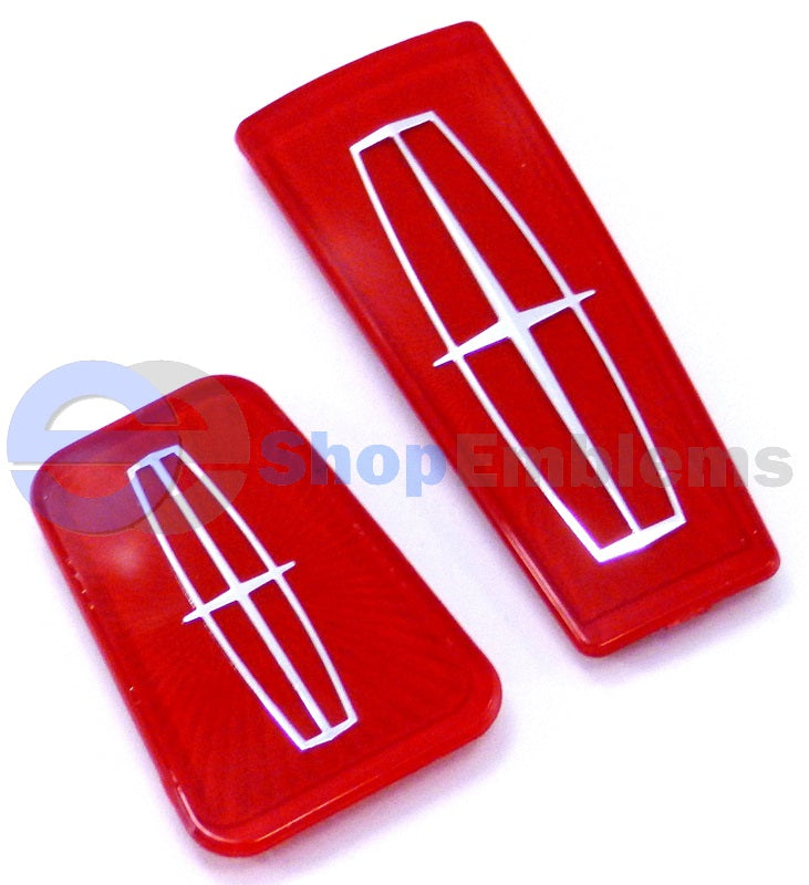 Lincoln Town Car 98-02 trunk hood Ornament Badge Nameplate Emblem Red 99 00 01