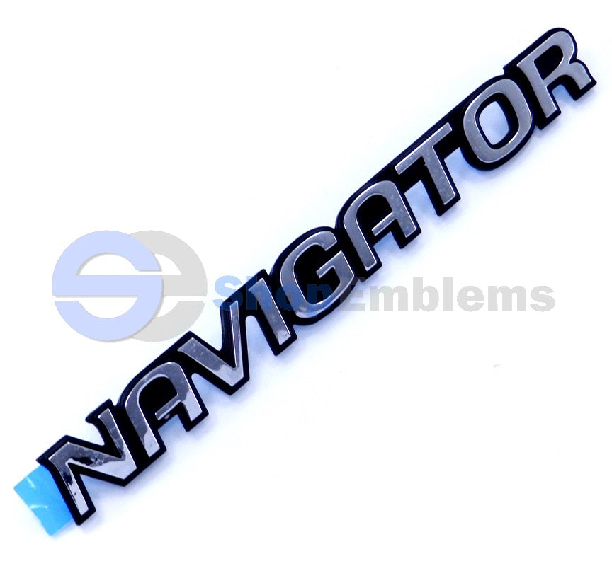 Lincoln Navigator Tailgate Emblem Script Decal Ornament Decal Badge NOS 98-02