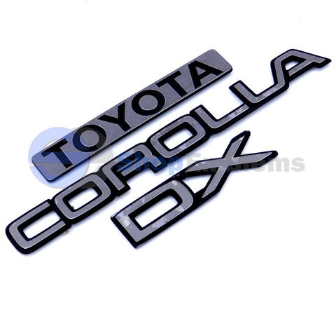 TOTUMY Used Refurbished 75311-60090 7531160090 3D Chrome Car Badge Emblem Radiator Emblem Logo Auto Replacement 3153 OEM Part No: 75311-60090 7531160090