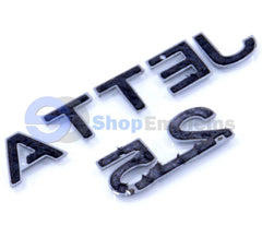 06-10 VW Jetta 2.5 Sedan Trunk Lid Emblem Nameplate Badge Script Letters OEM Genuine