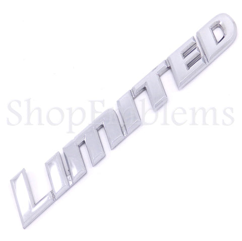 TOYOTA 01-07 SEQUOIA LIMITED PILLAR CAB SIDE EMBLEM GENUINE OEM BADGE LOGO 02 03