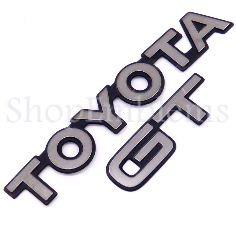 TOYOTA CELICA GT TRUNK LID SCRIPT EMBLEM ORNAMENT BADGE 91-93 USED