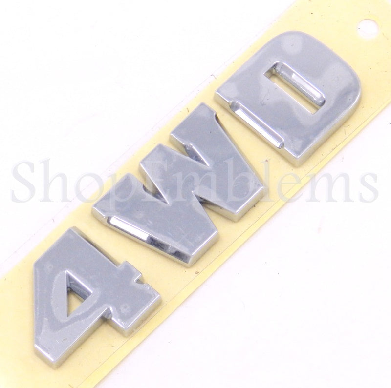 03-06 TOYOTA 4RUNNER 4WD REAR BACK DOOR NAMEPLATE LETTER EMBLEM SCRIPT