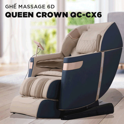 Ghế Massage QUEEN CROWN 6D QC-CX6