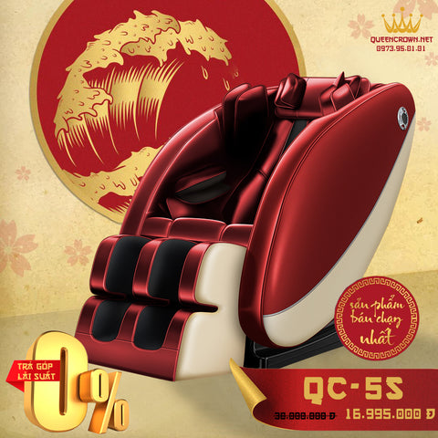 Ghế Massage QUEEN CROWN QC-5S