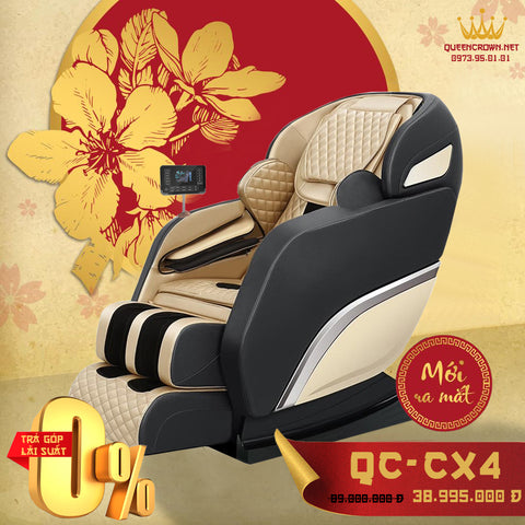 Ghế Massage QUEEN CROWN 6D QC-CX4