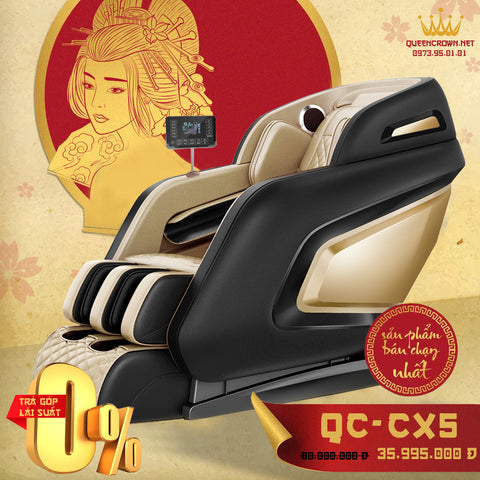 Ghế Massage QUEEN CROWN 6D QC-CX5