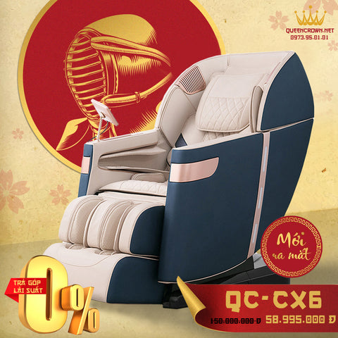 Ghế Massage QUEEN CROWN QC-CX6